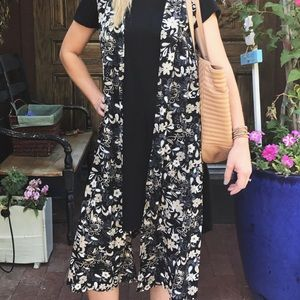 "LuLaRoe Duster Vest ""joy"""